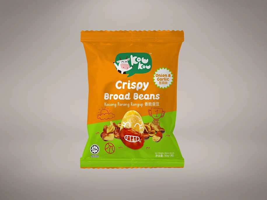 Broad Beans - Onion & Garlic (50g)