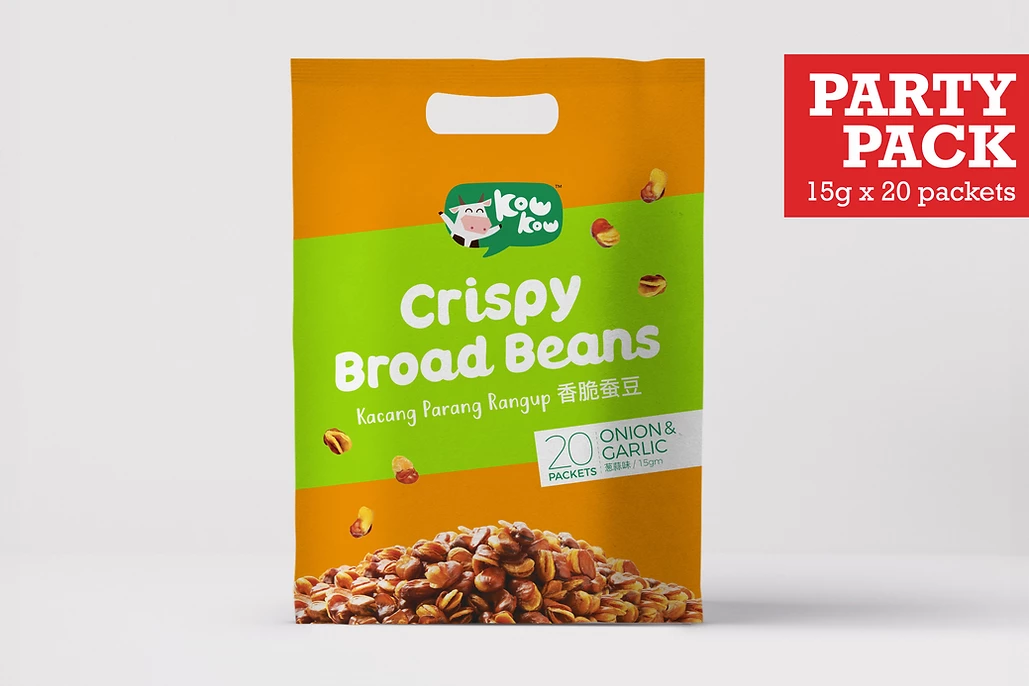 Party Pack: Broad Beans - Onion & Garlic